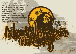Lirik Lagu No Woman No Cry